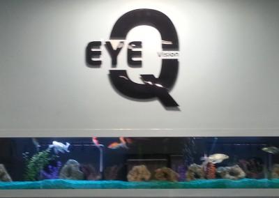 Custom glass fishtank